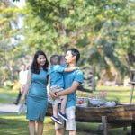 Ảnh chụp gia đình chị Phương Thúy, KDL bình quới 3