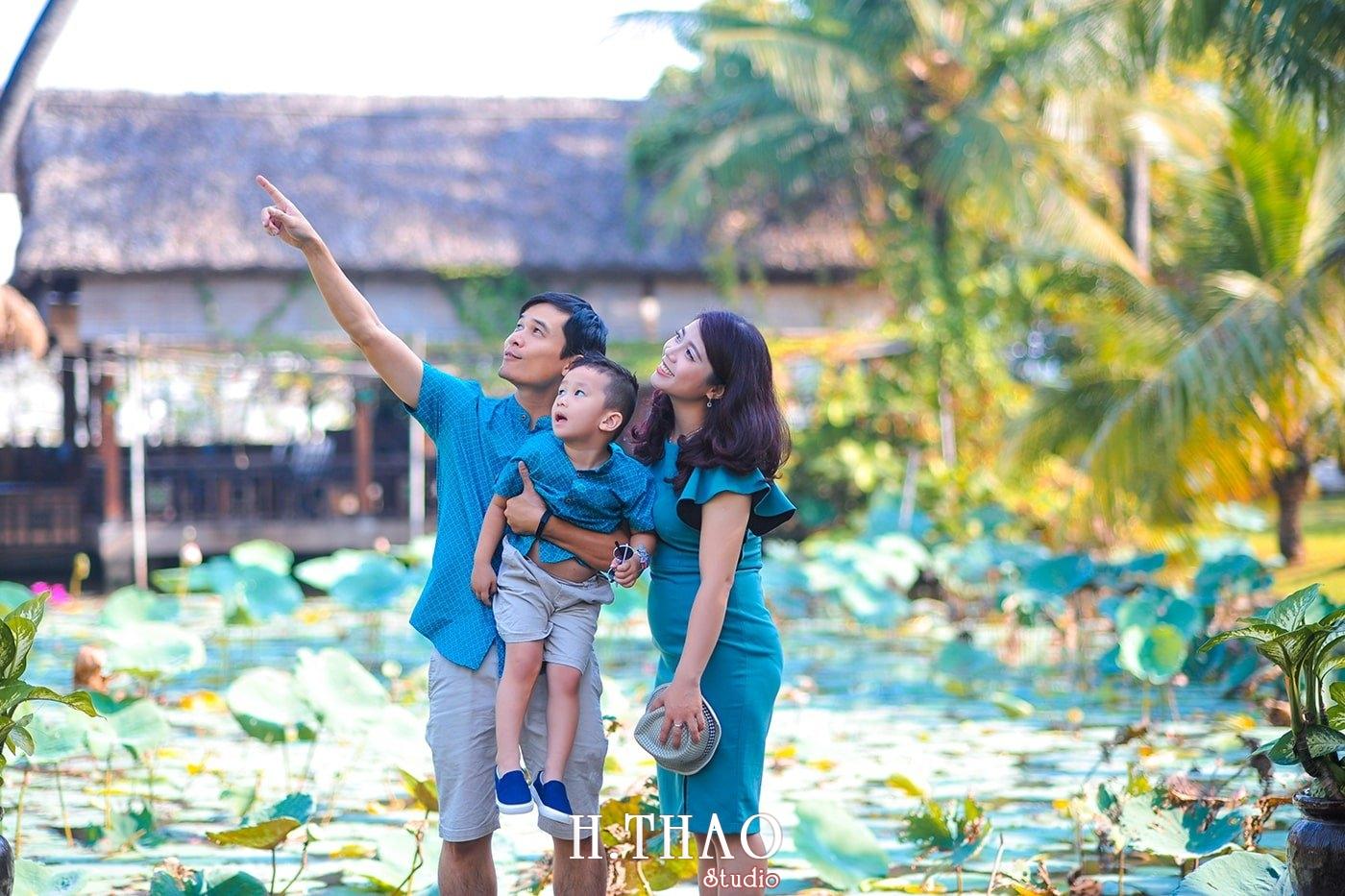 Anh gia dinh 3 nguoi 6 - Khu du lịch Bình Quới 3- Ảnh chụp gia đình anh chị Phương Thúy