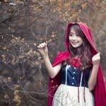 [Blend & Retouch] Cô bé quàng khăn đỏ