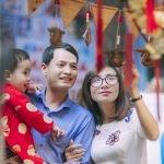 Ảnh chụp gia đình anh Phong Hồ, Quận 1 Tp.HCM