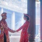 Ảnh chụp đôi bạn Duy- Nhã, chùa bà Thiên Hậu Quận 5, Tp.HCM