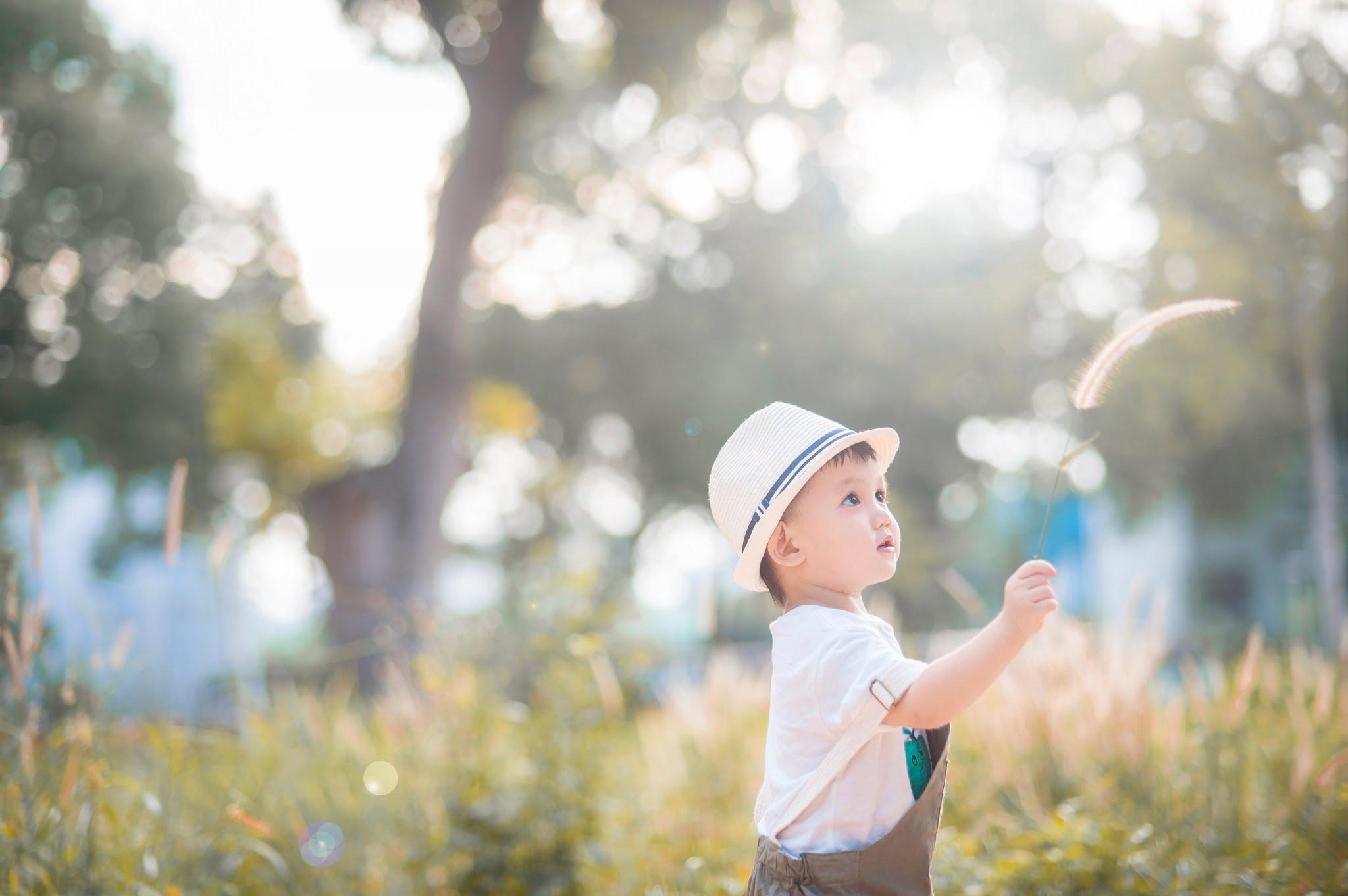 Judo 1 - Công viên Gia Định, địa điểm lý tưởng để chụp hình cho em bé