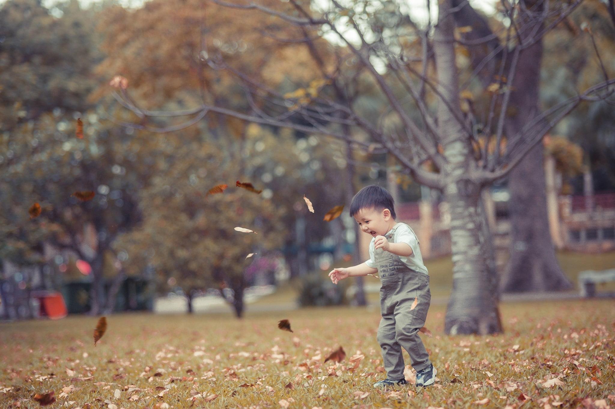 Judo 12 - Công viên Gia Định, địa điểm lý tưởng để chụp hình cho em bé
