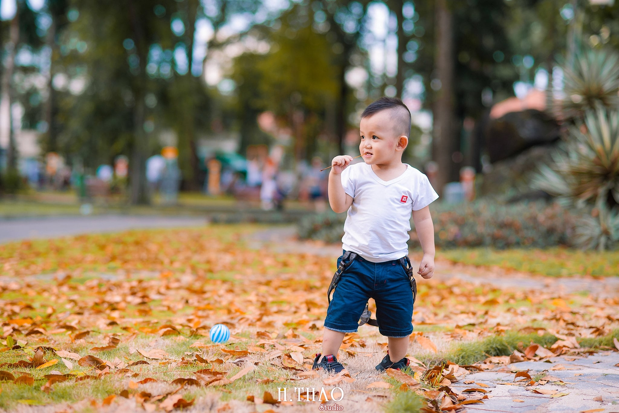 Judo 18 - Album ảnh bé chụp tại công viên Tao Đàn tuyệt đẹp - HThao Studio