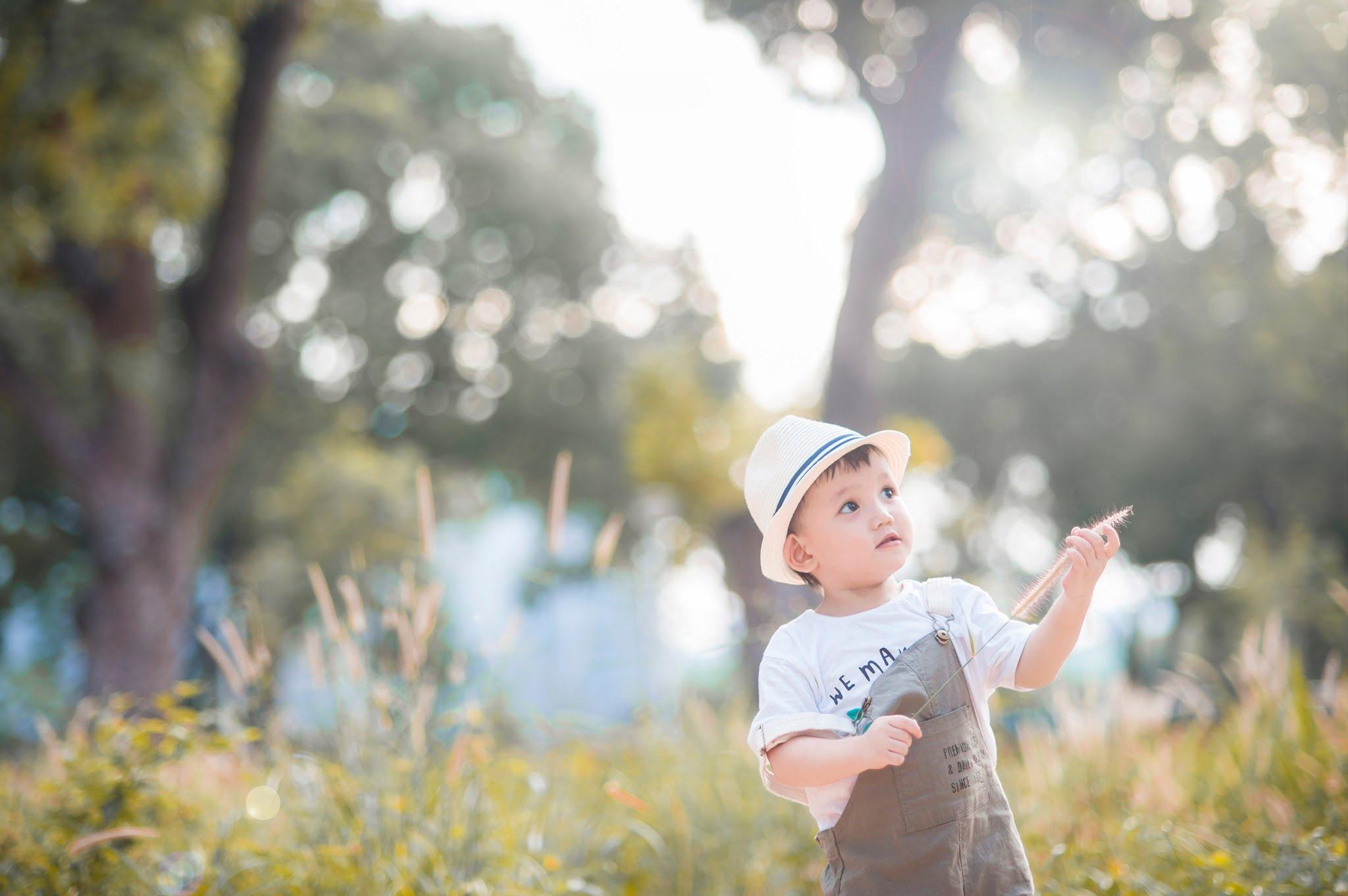 Judo 5 - Công viên Gia Định, địa điểm lý tưởng để chụp hình cho em bé