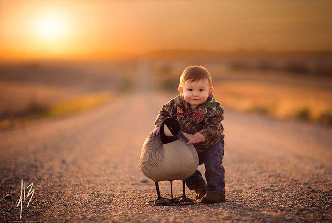 phong cach tay 4 680x438 - Thời gian nào hợp lý để chụp ảnh cho bé?