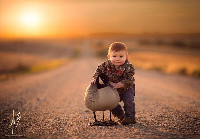 phong cach tay 4 - Thời gian nào hợp lý để chụp ảnh cho bé?
