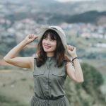 Ảnh chụp trên đỉnh Langbiang Đà Lạt – Trang Nguyễn