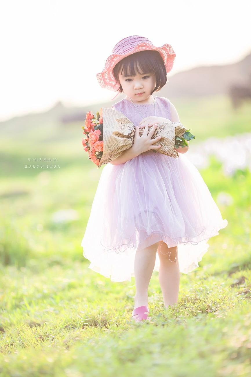 Little girl 6 - Studio chụp hình cho bé đẹp ở Tp.HCM