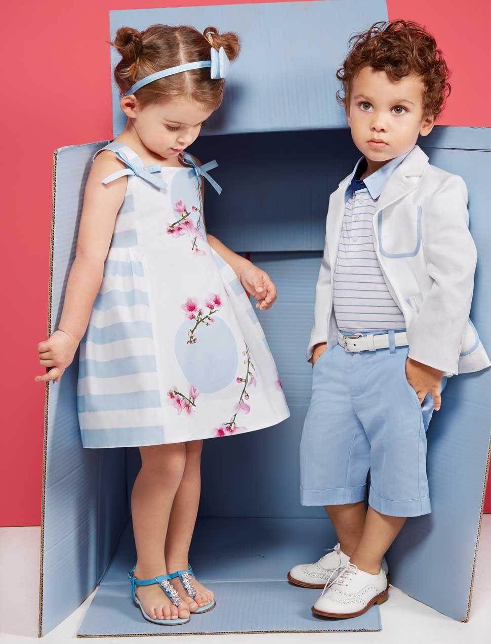 Thoi trang con nit 1 - Gợi ý thời trang kiểu tây cho bé