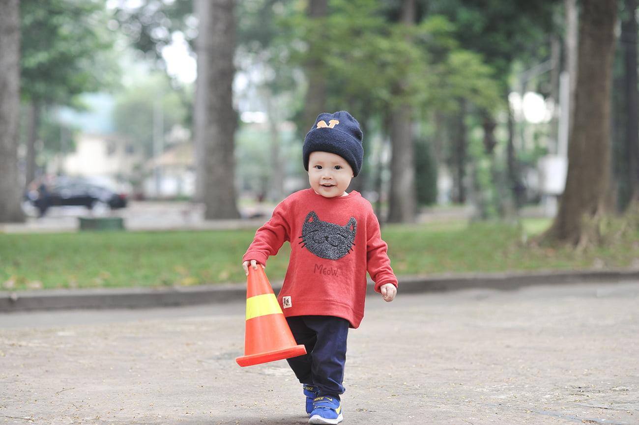 cu bo 5 web - Ảnh chụp cu Bo, gia đình chị Trang Sài Gòn