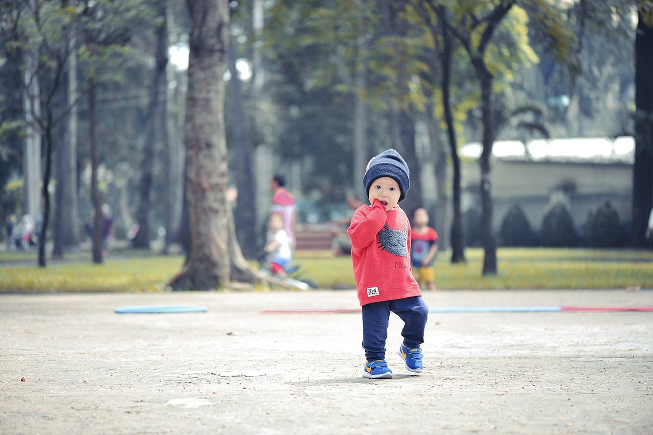 cu bo 6 web - Ảnh chụp cu Bo, gia đình chị Trang Sài Gòn