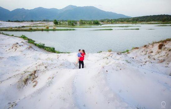 anh cuoi ngoai canh 8 549x350 - Top 4 phong cách chụp ảnh cưới hot nhất hiện nay