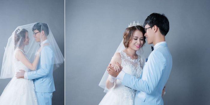 anh cuoi studio 1 700x350 - Top 4 phong cách chụp ảnh cưới hot nhất hiện nay