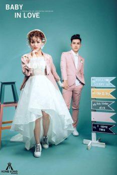 anh cuoi studio 3 233x350 - Top 4 phong cách chụp ảnh cưới hot nhất hiện nay