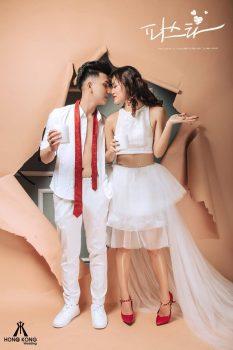anh cuoi studio 4 233x350 - Top 4 phong cách chụp ảnh cưới hot nhất hiện nay