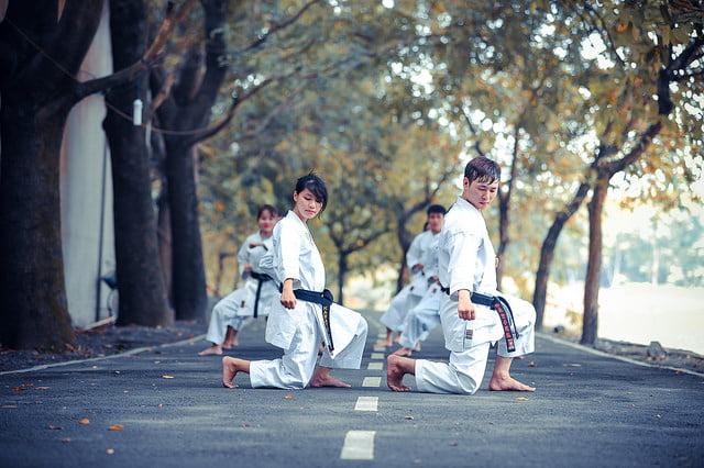 anh cuoi vo thuat - Chụp ảnh cưới võ thuật ở Sài Gòn