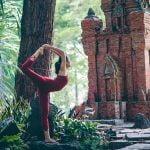 Bộ ảnh Yoga với 3 thiếu nữ chụp tại công viên Tao đàn