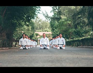 Chùm ảnh Karate qua màu phim cực chất
