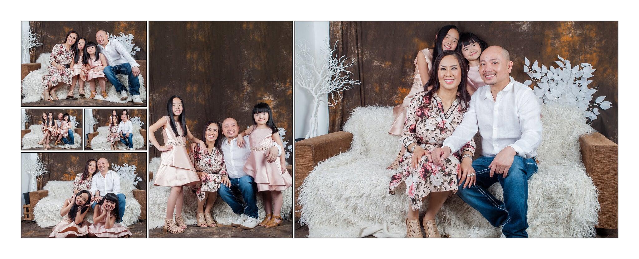 Ảnh gia đình chị Jenny Nguyễn