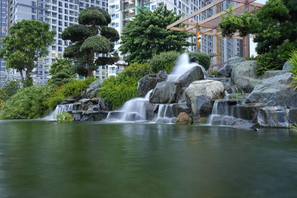 Vinhome central park 3 - Công viên Vinhomes Central Park, địa điểm chụp ảnh đẹp ở Sài Gòn