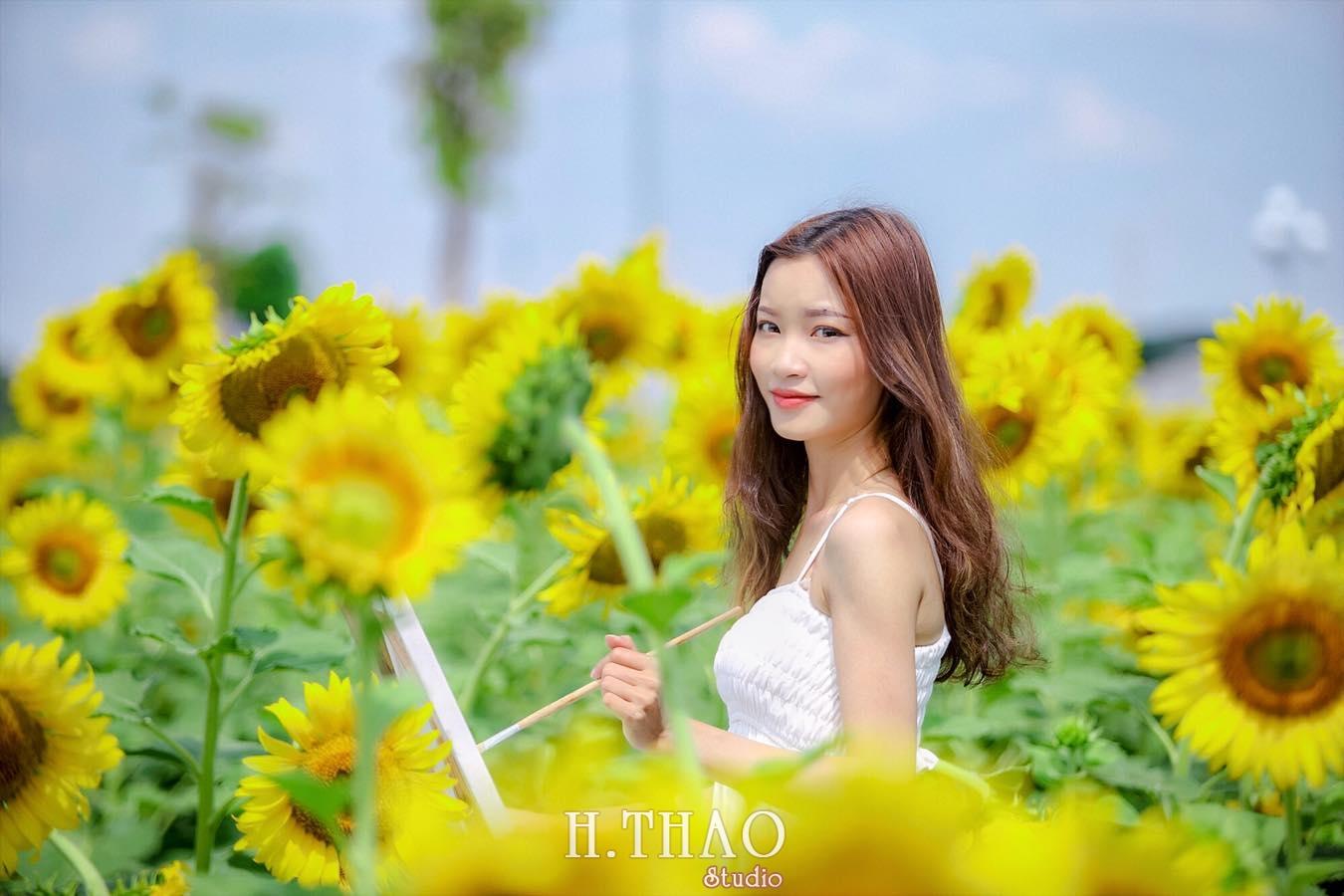 hoa huong duong 4 - Cánh đồng hoa hướng dương tuyệt đẹp giữa Sài Gòn