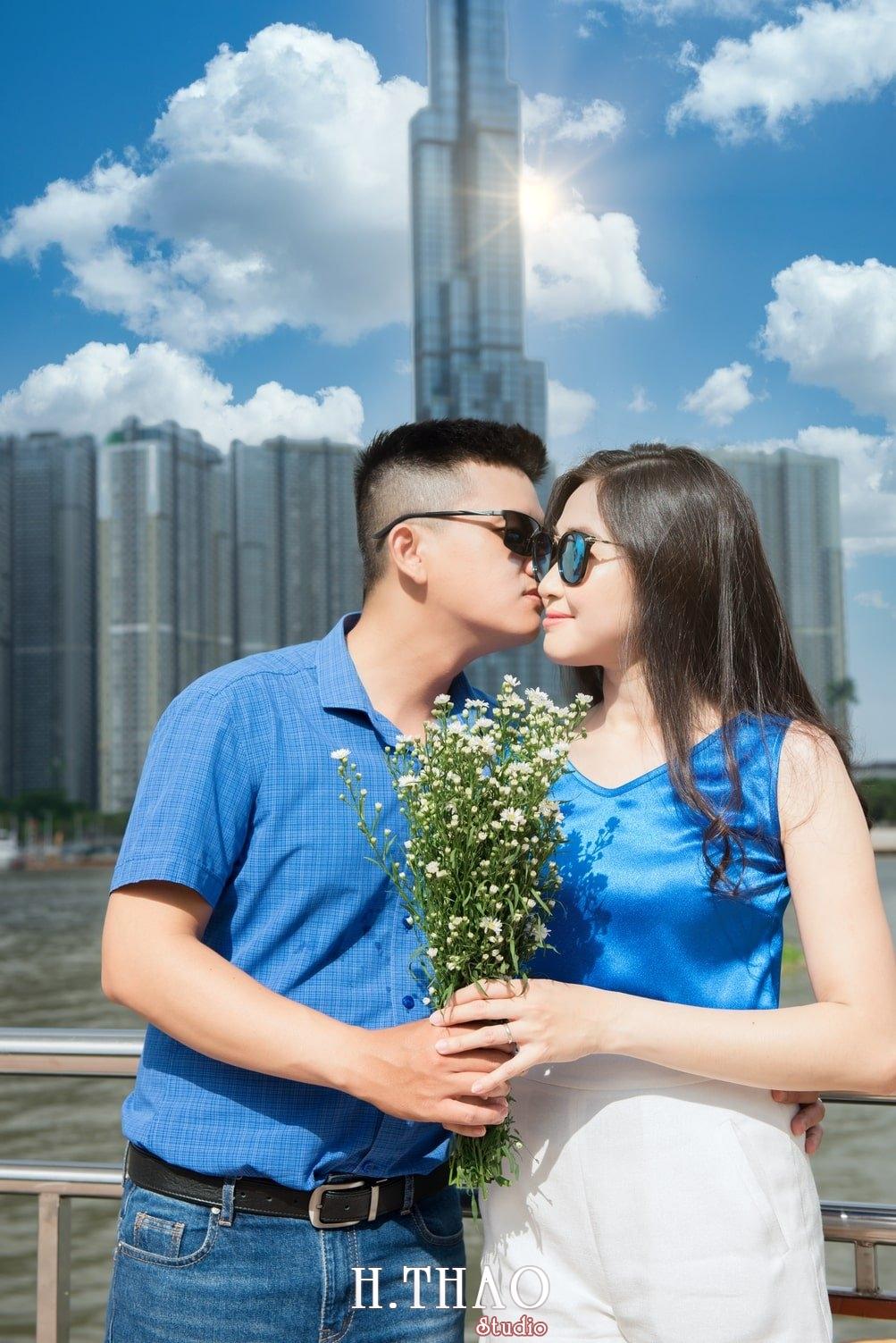 Anh Gia dinh 3 nguoi 8 - Bộ ảnh gia đình 3 người chụp ngoại cảnh đẹp tự nhiên - HThao Studio