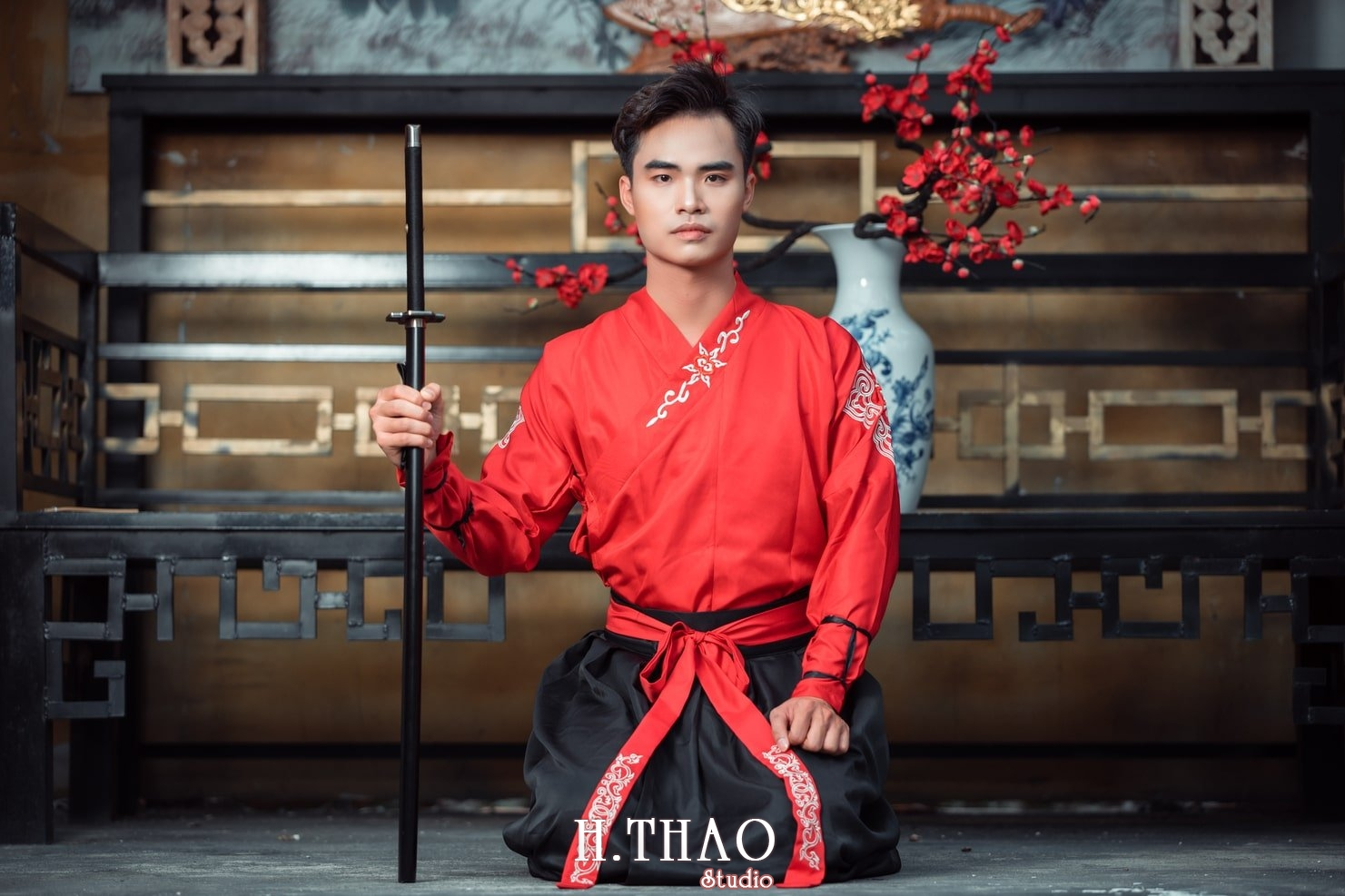 Anh Nam co trang 22 - Album chụp ảnh cổ trang nam phong cách Nhật Bản đẹp – HThao Studio