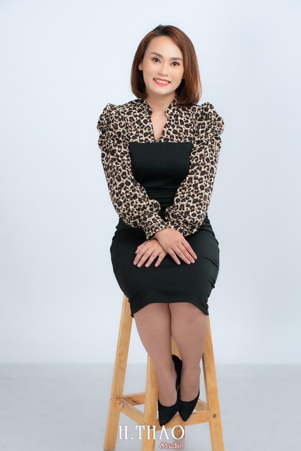 Anh Profile 10 - Album ảnh doanh nhân nữ: chị Kim đẹp nhẹ nhàng - HThao Studio