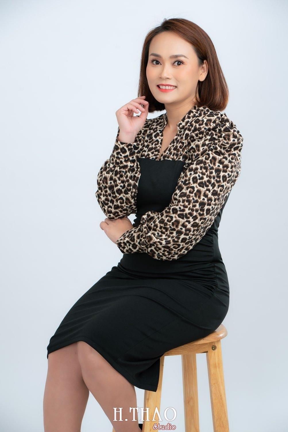 Anh Profile 9 - Album ảnh doanh nhân nữ: chị Kim đẹp nhẹ nhàng - HThao Studio