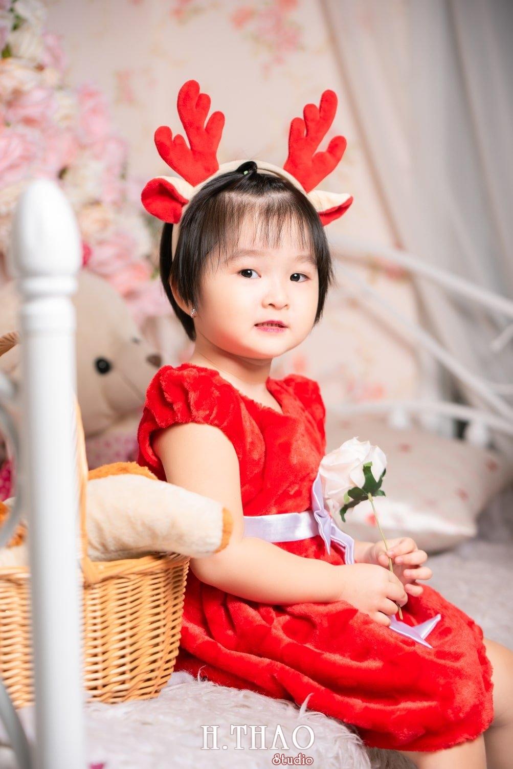 Anh be noel 12 - Album ảnh noel chụp cho con gái cưng chị Linh - HThao Studio