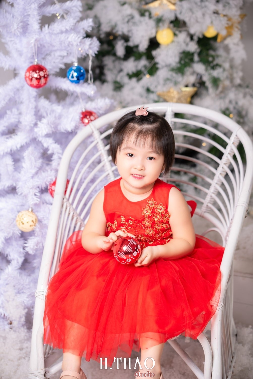 Anh be noel 18 - Album ảnh noel chụp cho con gái cưng chị Linh - HThao Studio