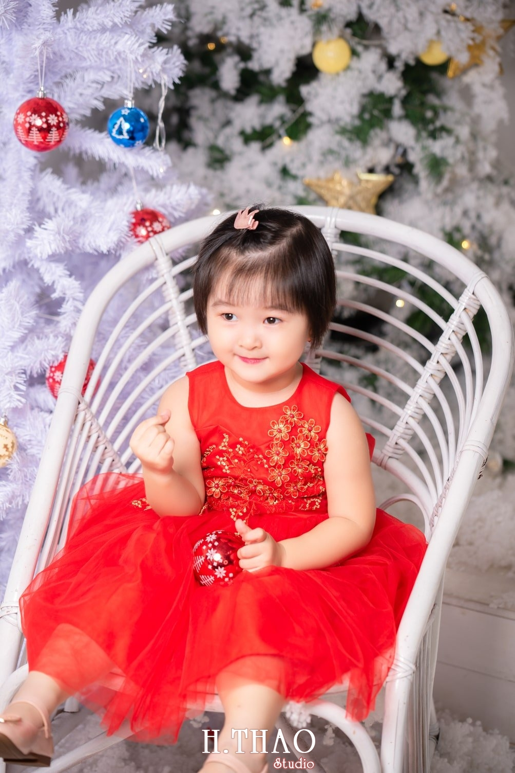 Anh be noel 19 - Album ảnh noel chụp cho con gái cưng chị Linh - HThao Studio