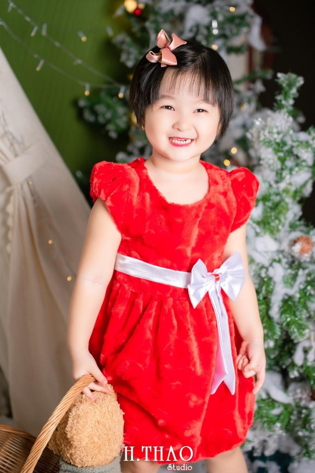 Anh be noel 2 - Album ảnh noel chụp cho con gái cưng chị Linh - HThao Studio