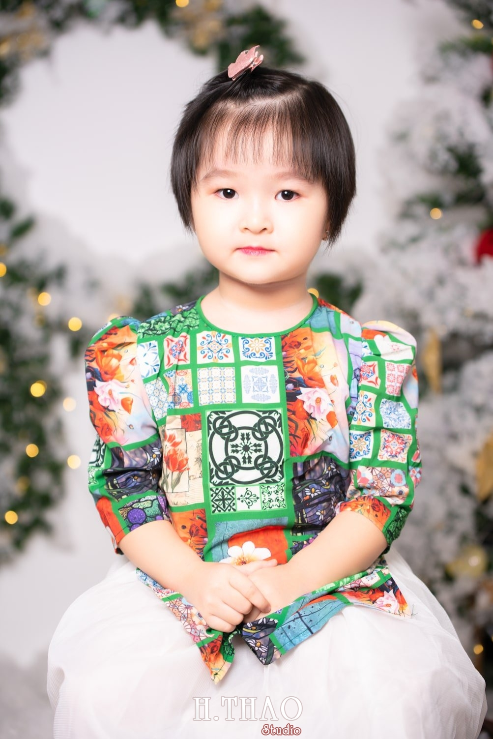 Anh be noel 27 - Album ảnh noel chụp cho con gái cưng chị Linh - HThao Studio