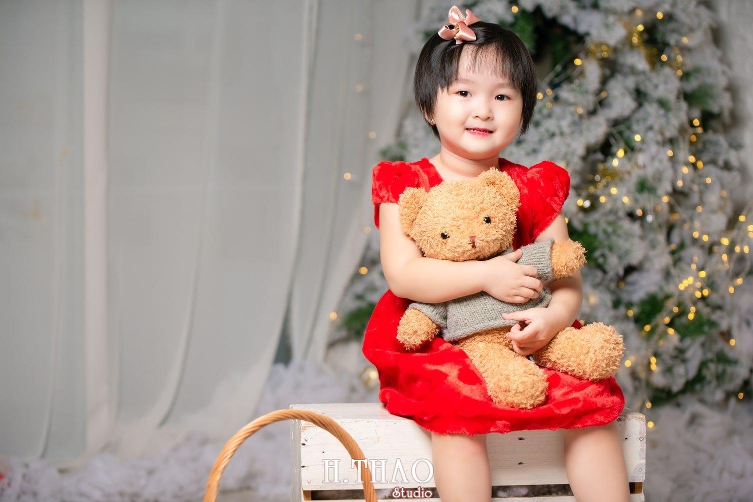 Anh be noel 5 - Album ảnh noel chụp cho con gái cưng chị Linh - HThao Studio