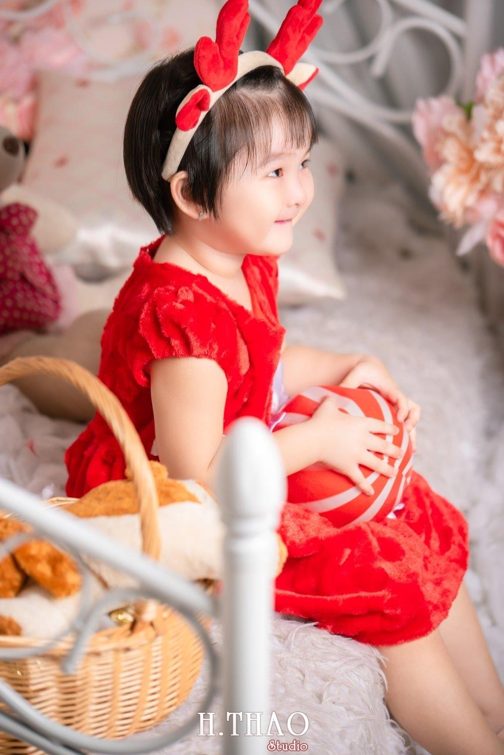 Anh be noel 9 - Album ảnh noel chụp cho con gái cưng chị Linh - HThao Studio