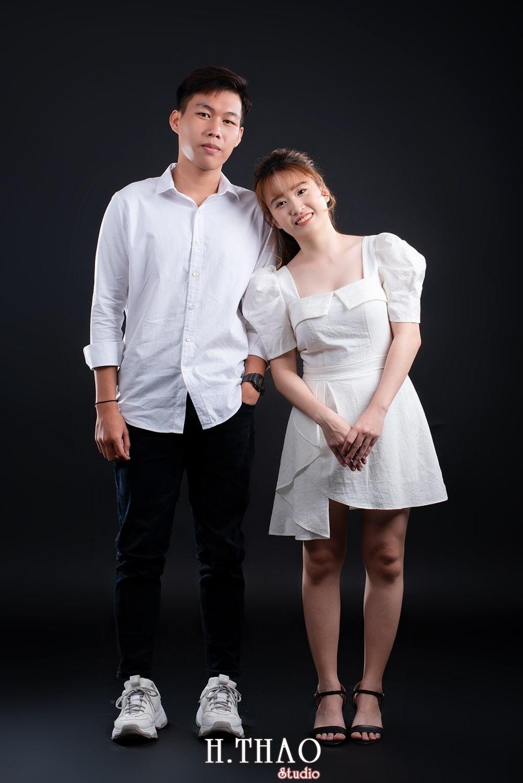 Anh couple 1 - Album ảnh couple siêu nhí nhảnh chụp trong studio - HThao Studio