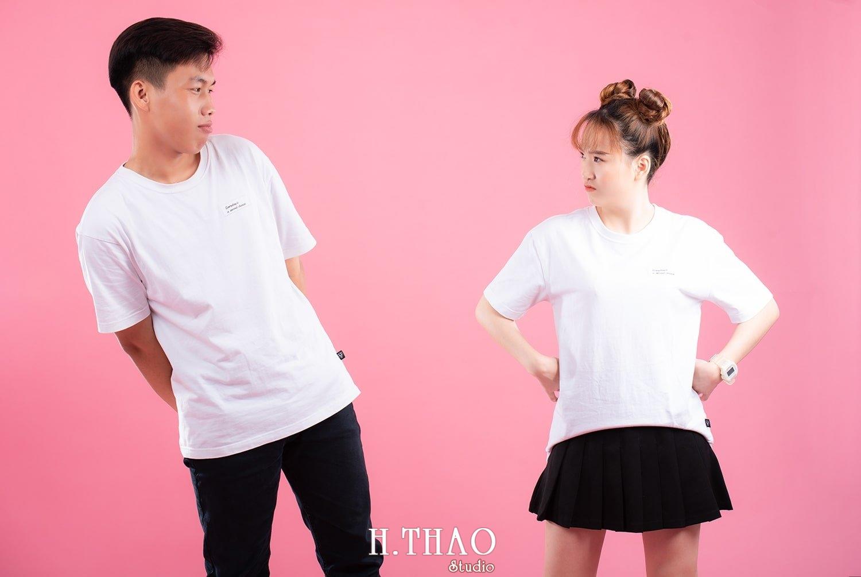 Anh couple 11 - Album ảnh couple siêu nhí nhảnh chụp trong studio - HThao Studio