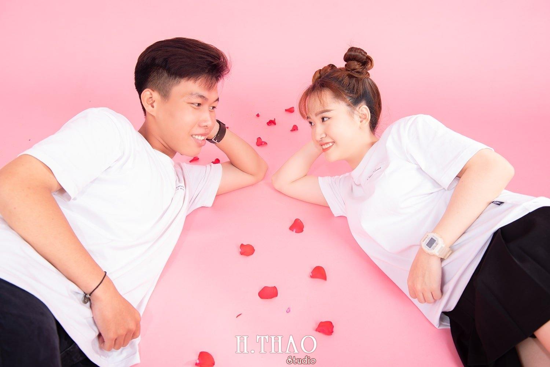 Anh couple 16 - Album ảnh couple siêu nhí nhảnh chụp trong studio - HThao Studio