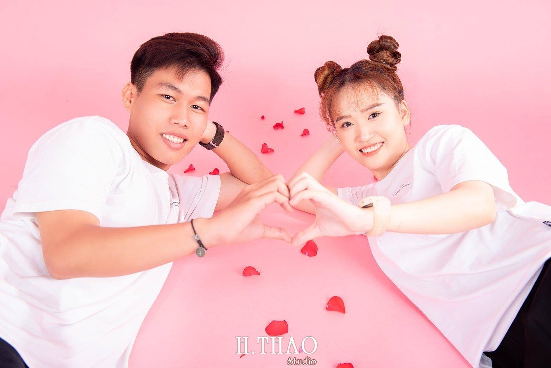 Anh couple 17 - Album ảnh couple siêu nhí nhảnh chụp trong studio - HThao Studio