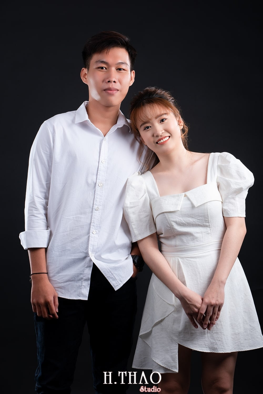 Anh couple 2 - Album ảnh couple siêu nhí nhảnh chụp trong studio - HThao Studio