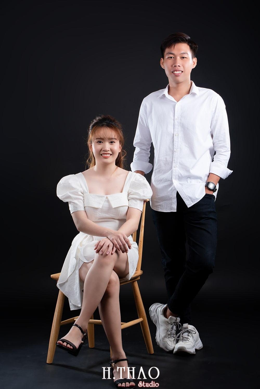 Anh couple 3 - Album ảnh couple siêu nhí nhảnh chụp trong studio - HThao Studio