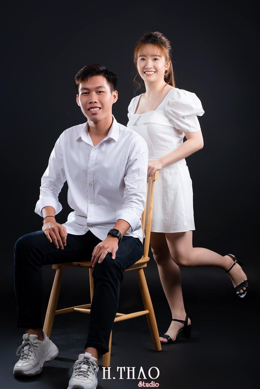Anh couple 4 - Album ảnh couple siêu nhí nhảnh chụp trong studio - HThao Studio