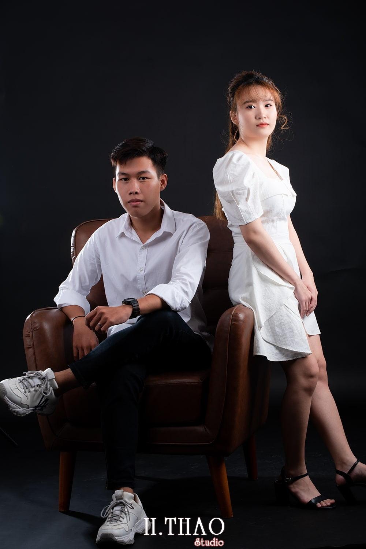 Anh couple 6 - Album ảnh couple siêu nhí nhảnh chụp trong studio - HThao Studio