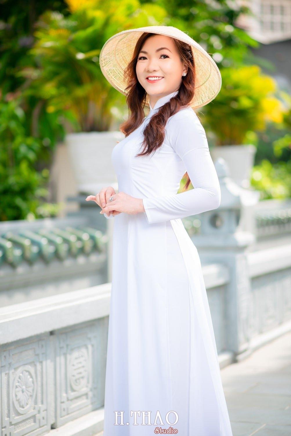 Ao dai 10 - Báo giá chụp ảnh áo dài trọn gói tại Tp.HCM - HThao Studio