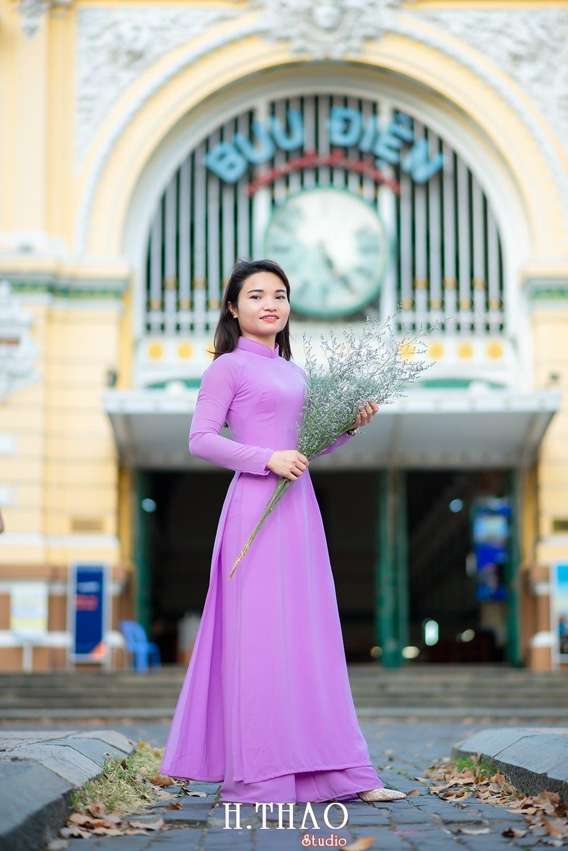 Ao dai 2 2 - Tổng hợp album ảnh áo dài chụp tại nhà thờ Đức Bà - HThao Studio