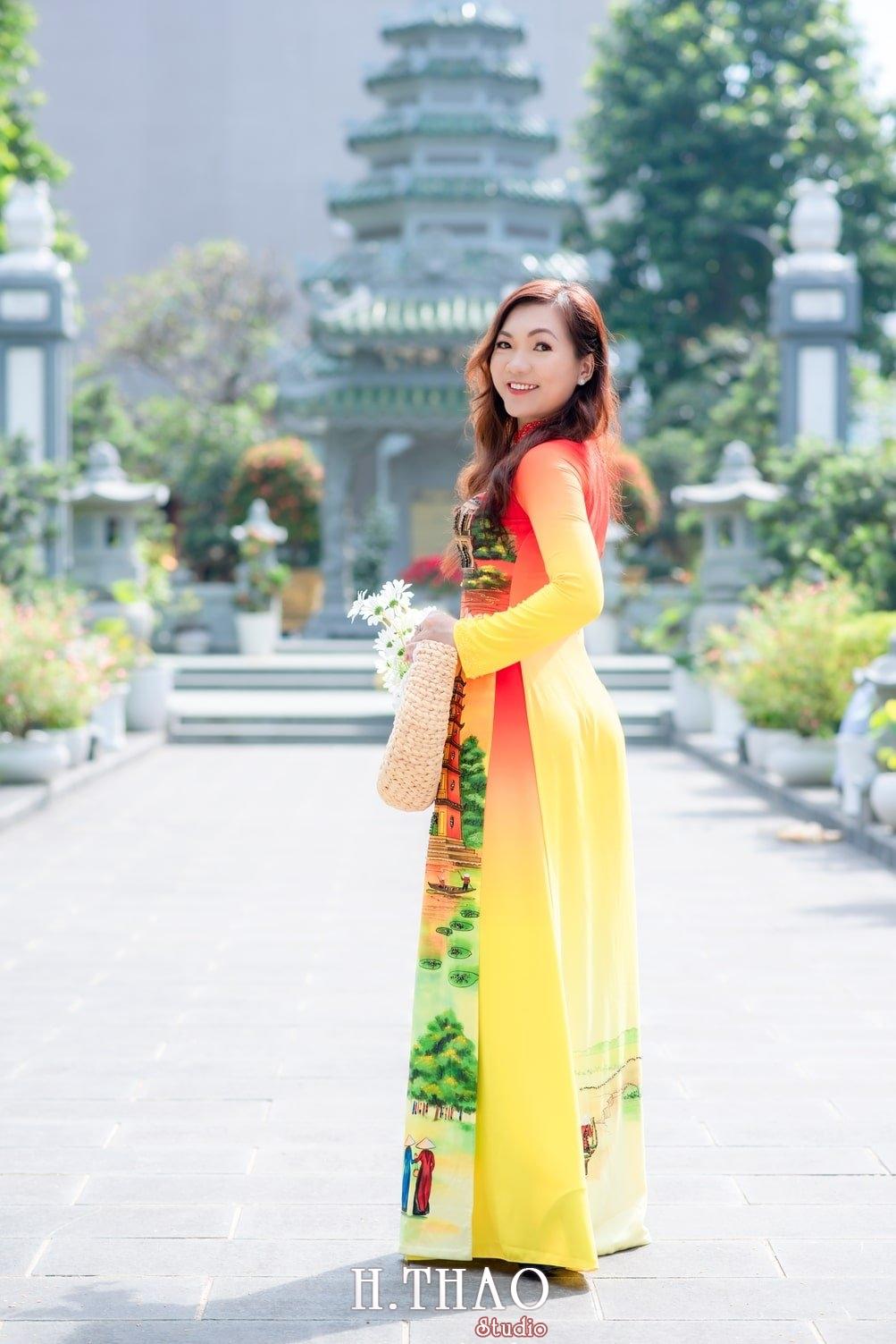 Ao dai 2 - Báo giá chụp ảnh áo dài trọn gói tại Tp.HCM - HThao Studio