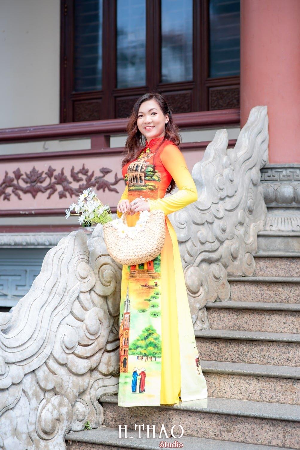 Ao dai 4 - Báo giá chụp ảnh áo dài trọn gói tại Tp.HCM - HThao Studio