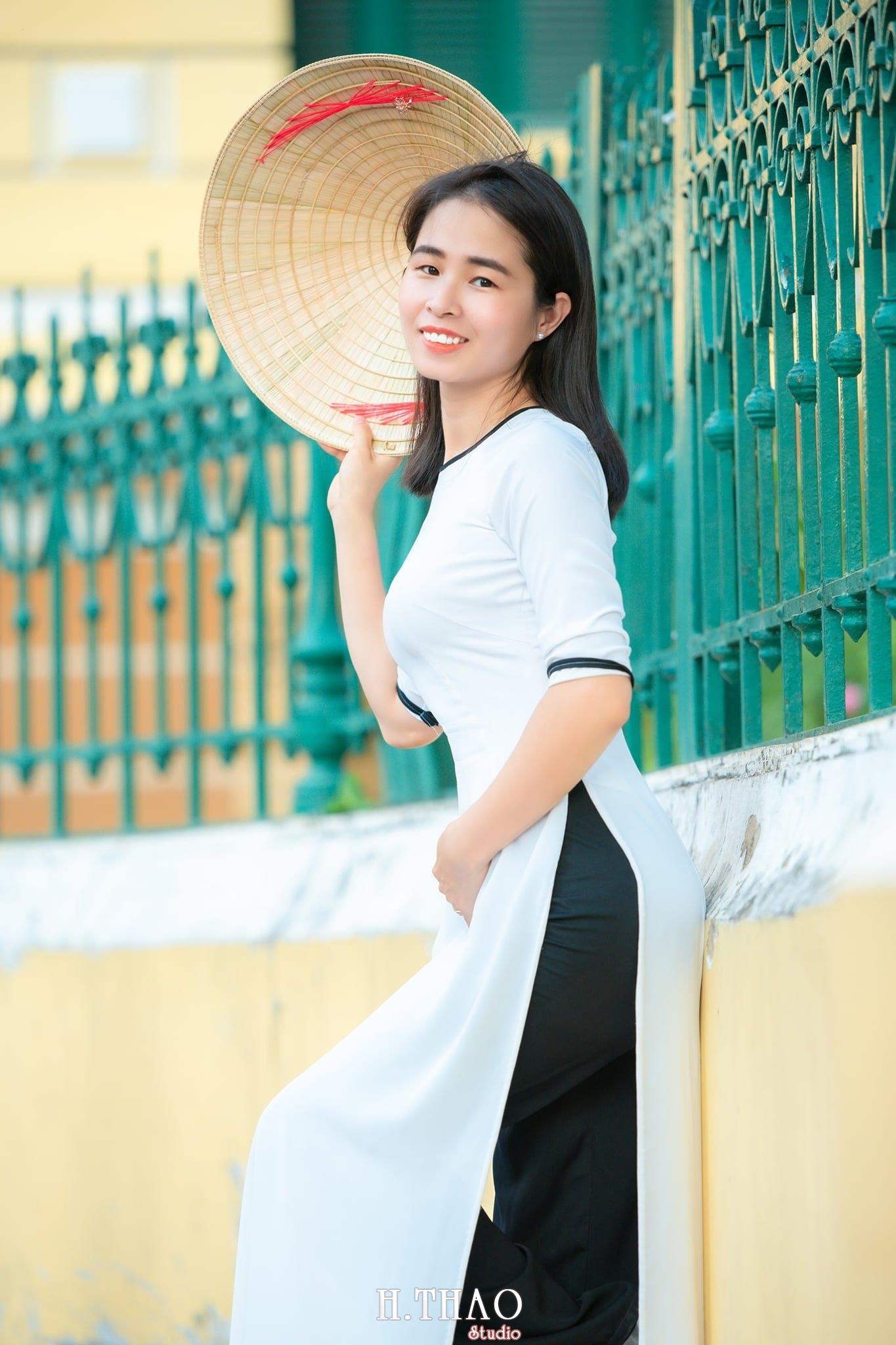 Ao dai 7 1 - Tổng hợp album ảnh áo dài chụp tại nhà thờ Đức Bà - HThao Studio